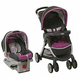 Graco Fastaction Fold Click Connect Travel System, Nyssa 201