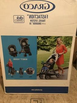 Graco FastAction Fold Travel System Stroller / carseat brand