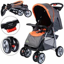 Foldable Baby Kids Convenience Stroller Newborn Infant Buggy