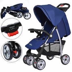Foldable Baby Kids Travel Stroller Newborn Infant Buggy Push