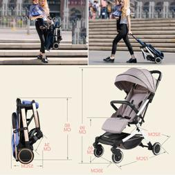 Foldable Baby Stroller Kids Travel Newborn Infant Buggy Push