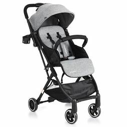 foldable baby stroller lightweight kids carriage pushchair