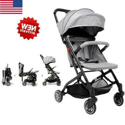 Foldable Stroller Baby Carriage Kids Travel Jogger Collapsib
