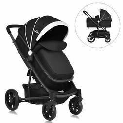 3 In1 Foldable Baby Kids Travel Stroller Newborn Infant Push