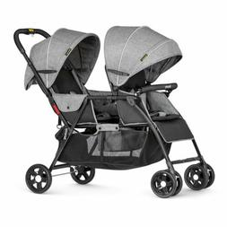 Besrey Foldable Twin Pushchair / Baby Tandem Pram  / Double