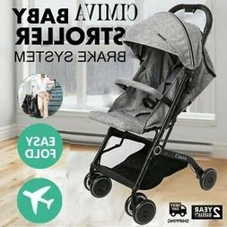 Folding Baby Stroller 2 In 1 Jogger Tour Lightweight Compact