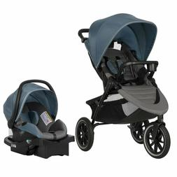 Evenflo Folio3 Stroll  Jog Travel System W/Litemax 35 Infant