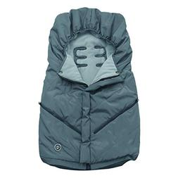 Little Me Footmuff for Strollers, Grey, Weather Resistant wi