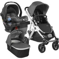 Uppababy Full-Size Vista Infant Baby Stroller  Mesa Car Seat