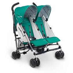 Infant Uppababy G-Link Ella Aluminum Frame Reclining Side By