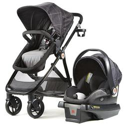 GB Lyfe Travel System Stroller - Windowpane
