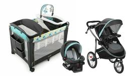 Graco Jogger Stroller Car Seat Travel System with Ingenuity