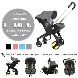 Gray BabyTrolley 4 in 1 Car Seat Stroller With Accesories In