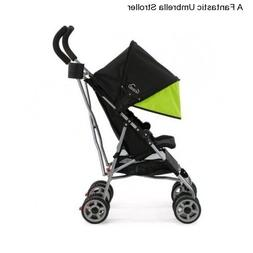 Green Boy's Girl's Single Baby Stroller Toddler Infant Compa