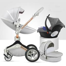 Hot mom 3 in 1 Baby Stroller 360 high view Bassinet foldable