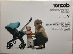 Doona Infant Baby Car Seat Travel Stroller Grey/Storm with L