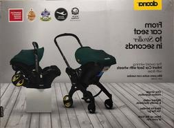 Doona Infant Baby Car Seat Travel Stroller Grey Hound with L