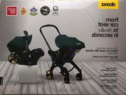 Doona Infant Baby Car Seat Travel Stroller Nitro Black with
