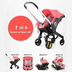 Infant Baby Stroller 4in1 Safety Seat Carriage Bassinet Comb
