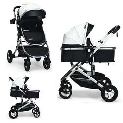 Infant Seat Stroller Combos 2 in 1 for Newborn Lightweight F
