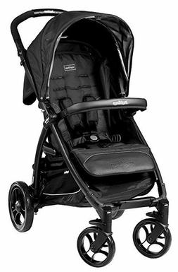 Peg Perego ITALY Booklet Onyx stroller+ mosquito cover, rain