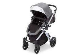 J is for Jeep Brand Sport Utility All-Terrain Stroller, Grey