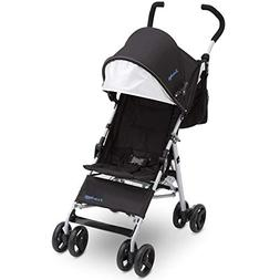 J is for Jeep Brand North Star Stroller - Black with Baby Bl