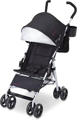 J Is For Jeep Brand North Star Stroller, Black/Burgundy