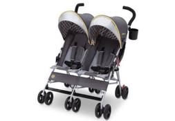 J Is for Jeep BRAND Scout Double Stroller Charcoal Galaxy St