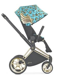 jeremy scott platinum priam lux stroller blue