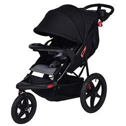 Costzon Baby Jogger Stroller, All Terrain Lightweight Fitnes