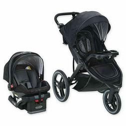 Graco Jogger Stroller Travel System with SnugRide 35 LX Car