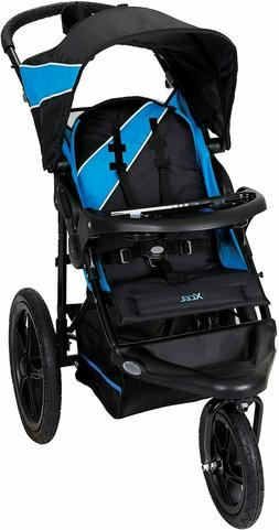 Jogging Running Stroller All Terrain Tires Storage Lightweig