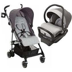Maxi-Cosi Kaia Special Edition Travel System, Soft Grey Swea