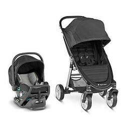 Baby Jogger Kids' City Mini 2 4-Wheel Travel System - Jet