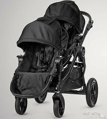 2016 city select double stroller black on