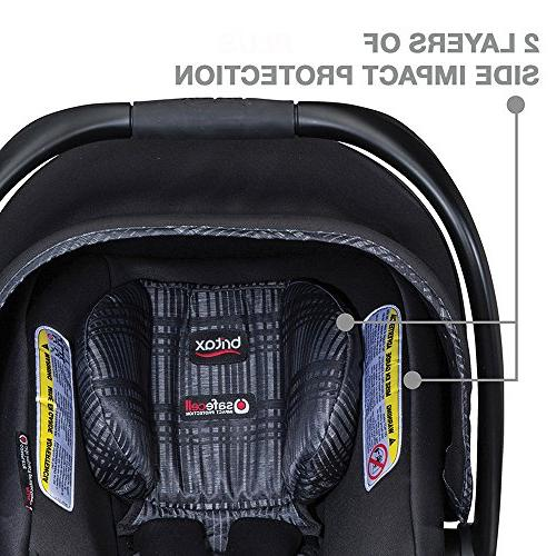 Britax 2017 Agile & B Elite Travel