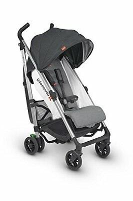 2018 UPPAbaby G-Luxe Stroller - Jordan Charcoal/Silver