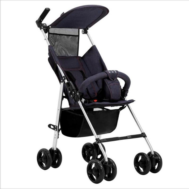 2019 latest <font><b>stroller</b></font> folding children's trolley portable