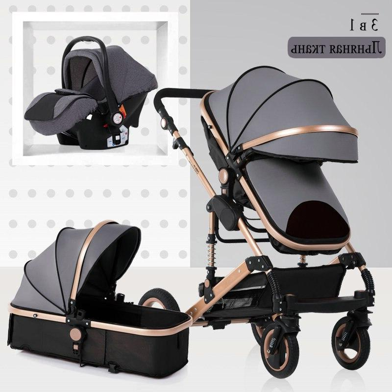 2019 new high 1 <font><b>baby</b></font> <font><b>stroller</b></font> double faced shipping in four Russia