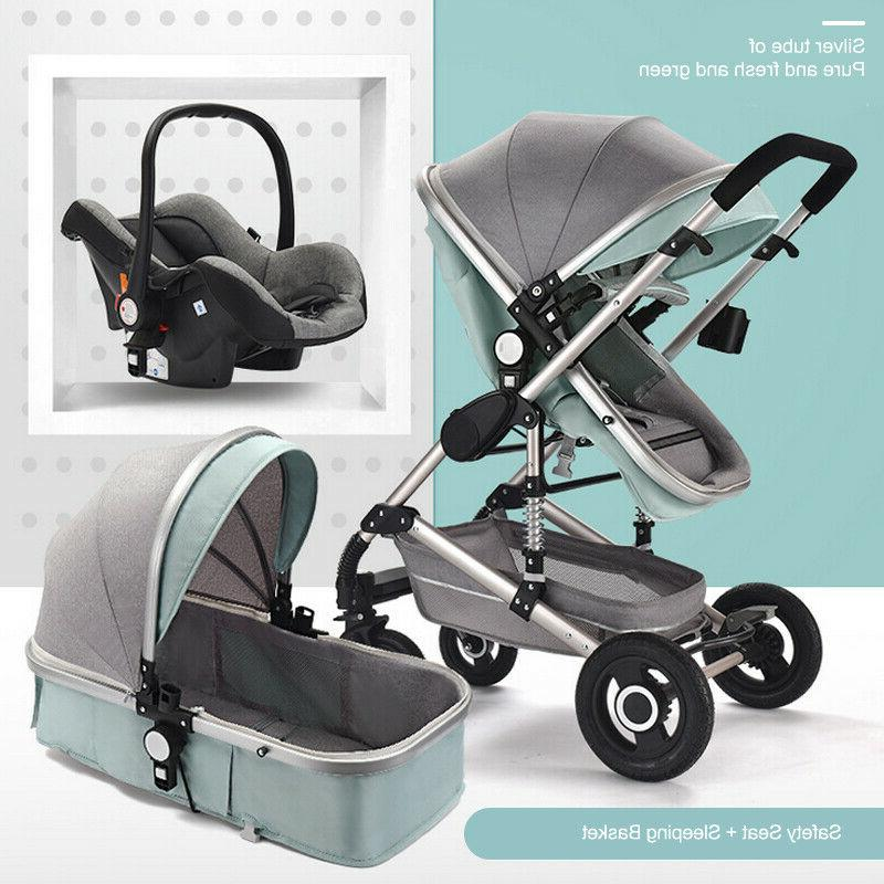 3 in 1 baby strollers foldable infant