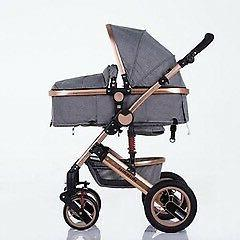 3 in 1 Infant Toddler Stroller Light Pram Car Seat Compatibl
