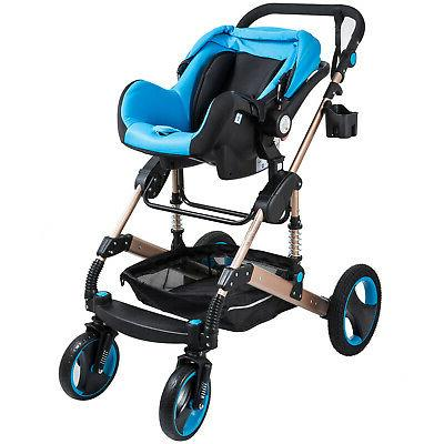 3 1 Foldable Baby Stroller View Pushchair Car