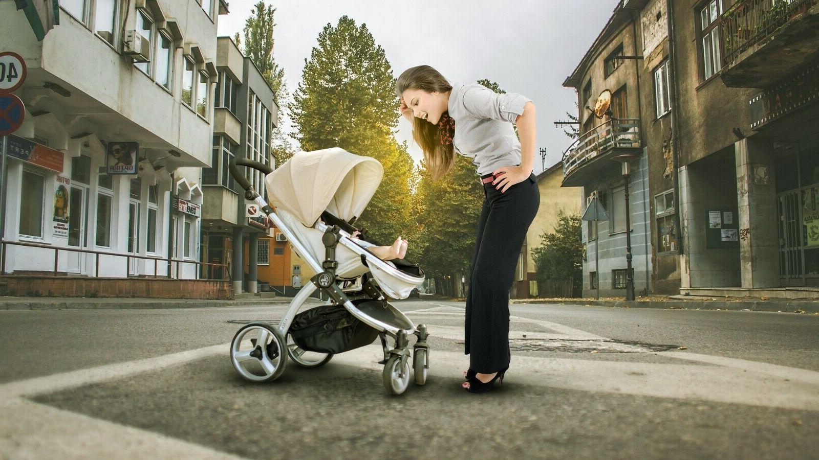 Kids Travel Infant Pushchair Buggy
