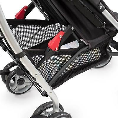 Summer Infant Convenience Compact Folding Stroller, Black