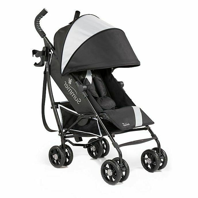 3d one convenience stroller eclipse gray