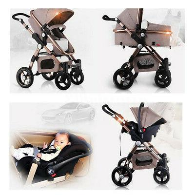 3 in1 Luxury High with Car Seat USA