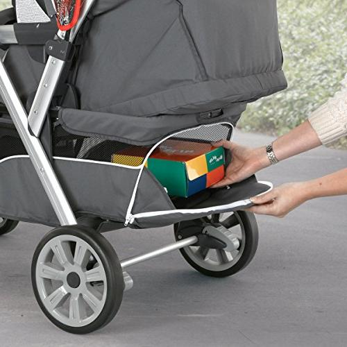 Chicco Together Double Stroller, Ombra