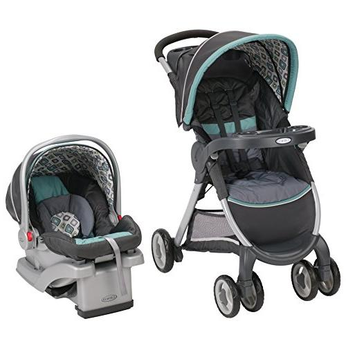 Graco FastAction Fold Connect Travel System, Affinia 2015