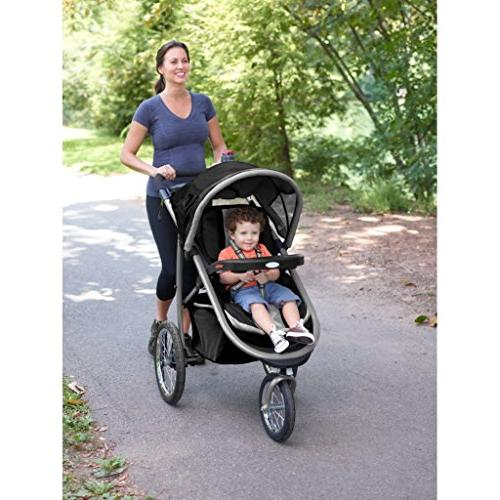Graco Fastaction Fold Jogger Click Connect Travel System,